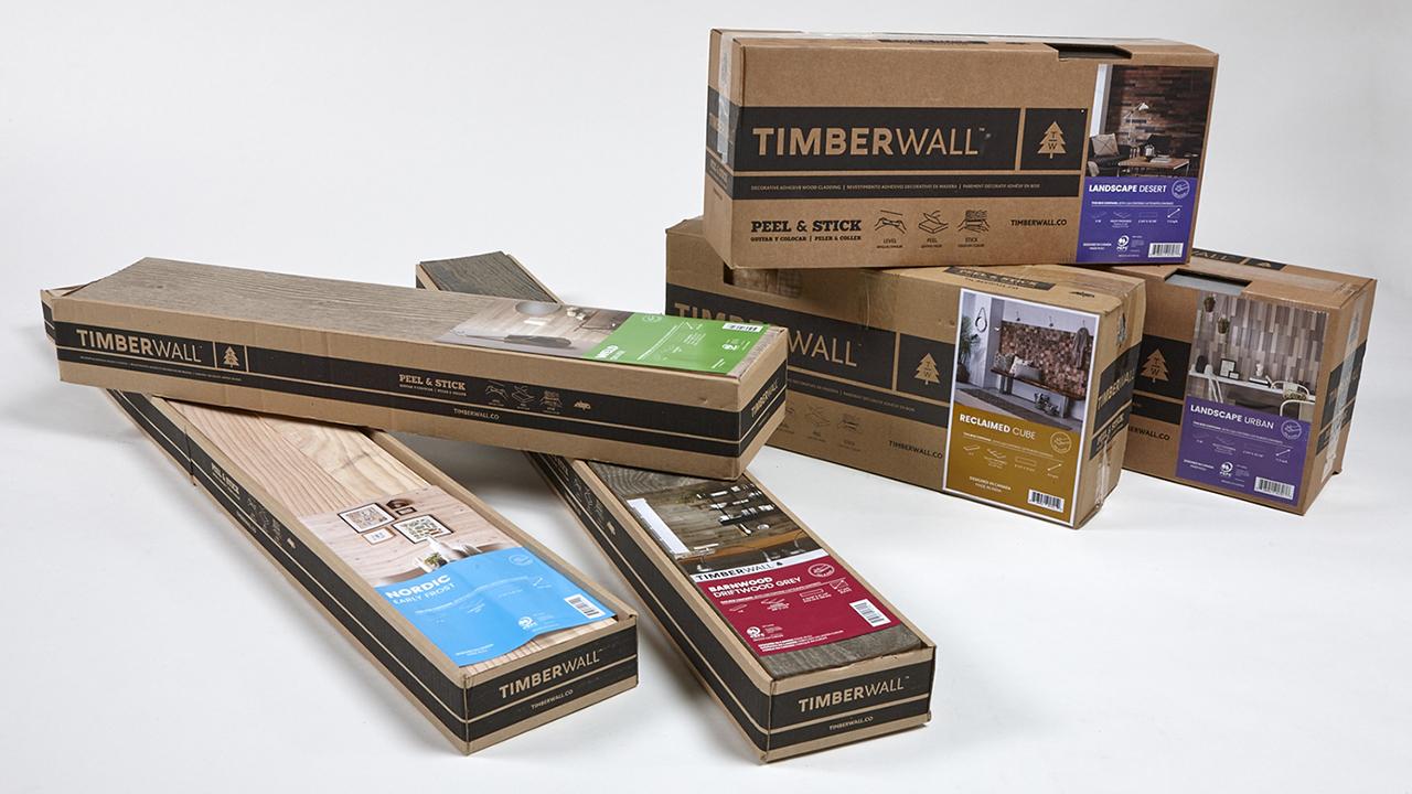 Emballage des produits Timberwall